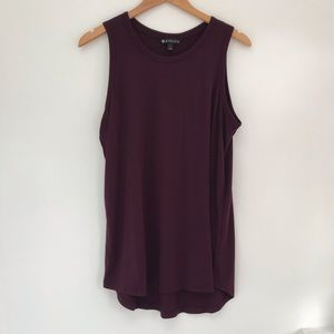 EUC Athleta Maroon Tank top large